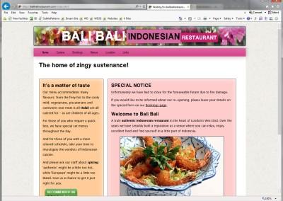 Bali Bali Indonesian Restaurant